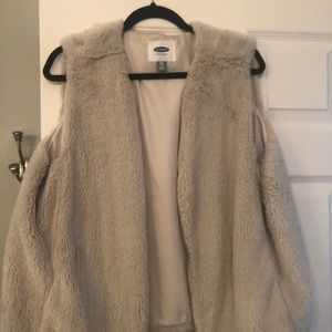 Super soft furry vest